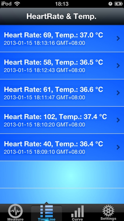Measure Temperature & Heart Rate screenshot-1
