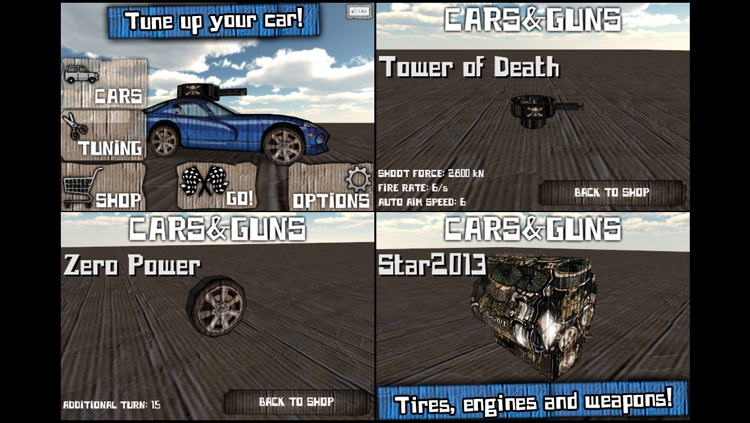 Cars And Guns 3D FREE screenshot-4