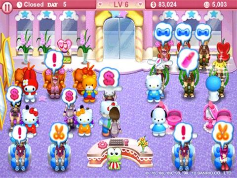 Hello Kitty Beauty Salon HD