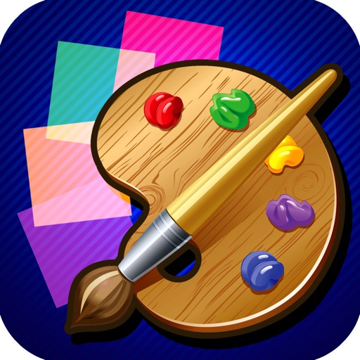 A Square Spin Paint Magic Free Game icon