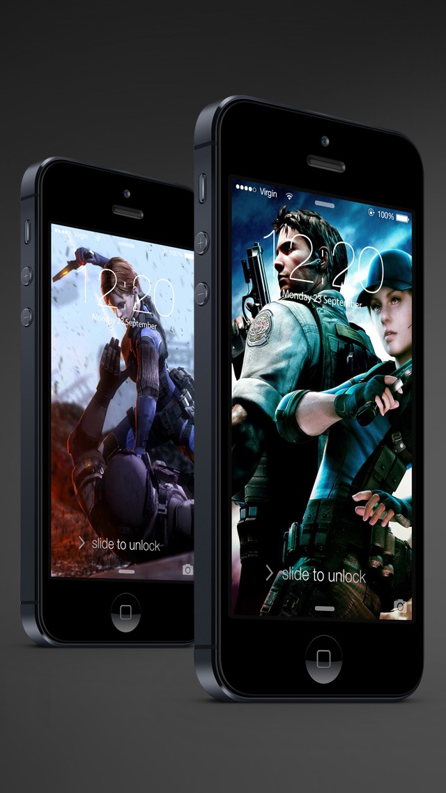 download HD Resident Evil version wallpapers - Ratina Background & Lock Screen for all iOS Device apps 3