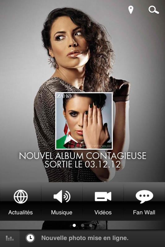 ALBUM DE ZAHO TÉLÉCHARGER CONTAGIEUSE NOUVEL