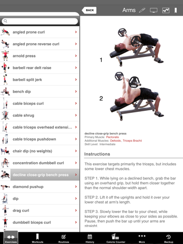 Full Fitness HD for iPad screenshot