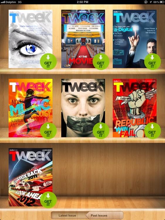 TWEEK for iPad