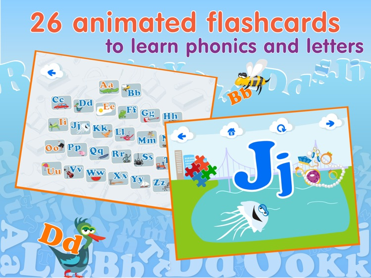 ABCs alphabet - Learning games for kids