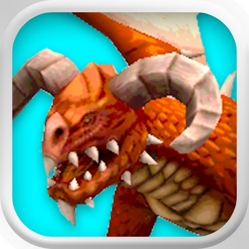 3D Dragon Adventure Game: Kingdom Clash of War F2P Edition - FREE iOS App