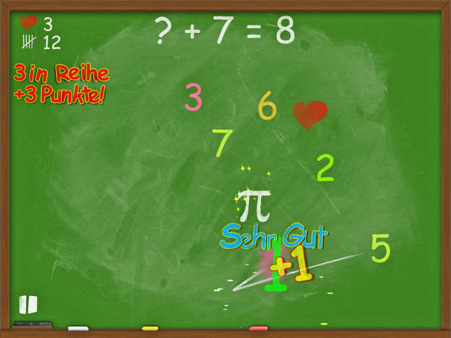 Blackboard Madness: Mathe Screenshot