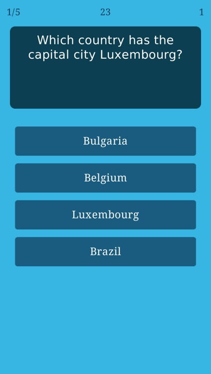 World Capitals Quiz - Geography Trivia Game about All