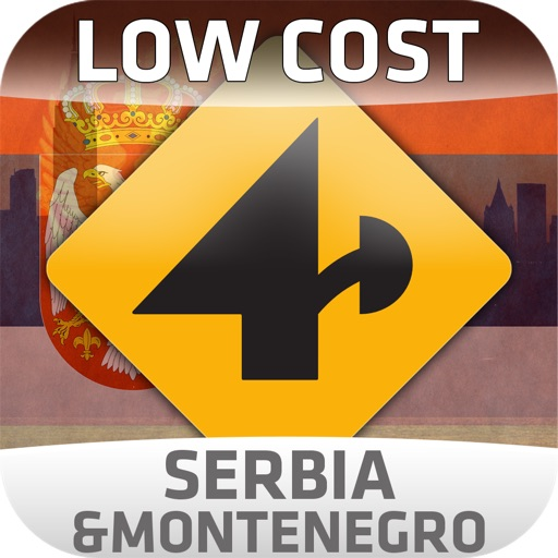 Nav4D Serbia Montenegro @ LOW COST icon