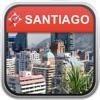 オフラインマッフ サンティアコ、チリ: City Navigator Maps