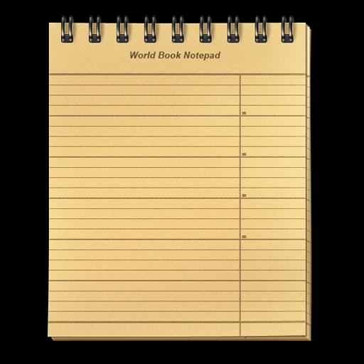 World Book Notepad
