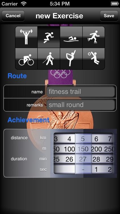 FitnessLog screenshot-4