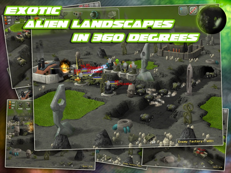Total Defense 3D HD screenshot-3