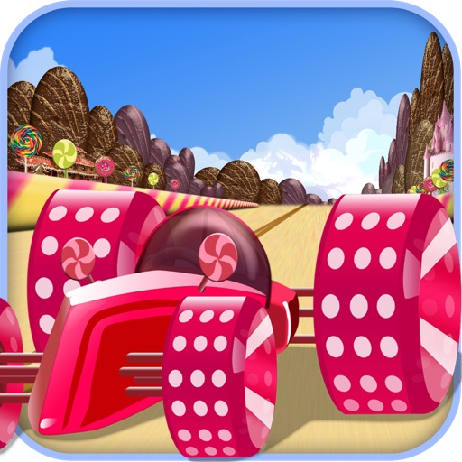 Candy Car Race - Drive or Get Crush Racing