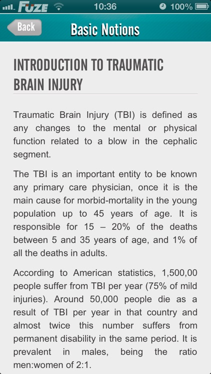 Traumatic Brain Injury (TBI)