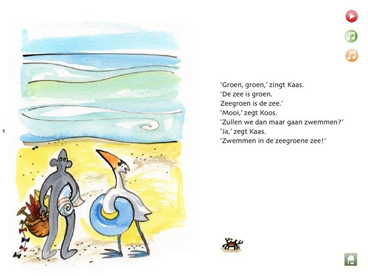Kaas en Koos - Op het strand - Deel 1