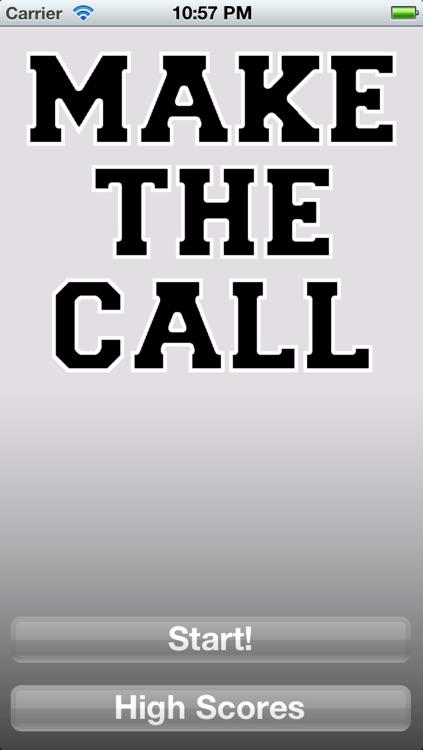 Make the Call - Hockey