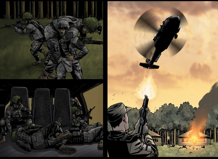 America's Army Comics screenshot-3