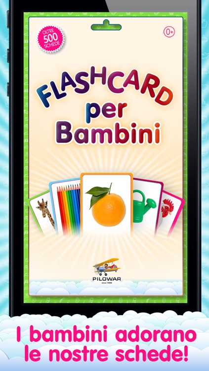 Flashcards for Kids in Italian and learning and logic game «Find a Picture» screenshot-4