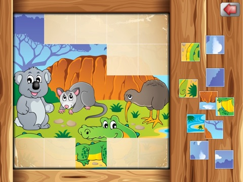Amusing Kids Puzzles - cute scenes for kids, toddlers and families-ipad-3