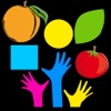 Learn with fun - Fruits, Shapes, Vegetables and Color for kids