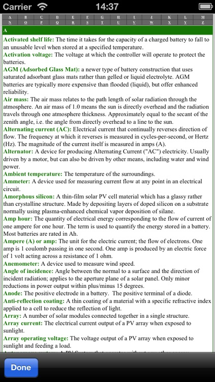 PV Master lite - The professional app tool for solar and photovoltaic panels screenshot-3