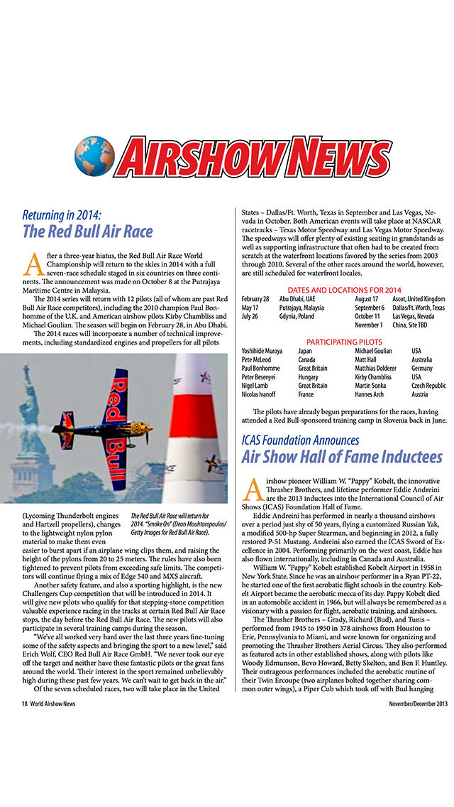 World Airshow News - Magazine about Aviation and Air Shows | App