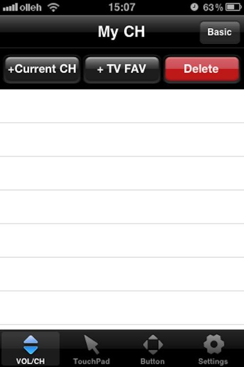 LG TV Remote 2011 screenshot-4