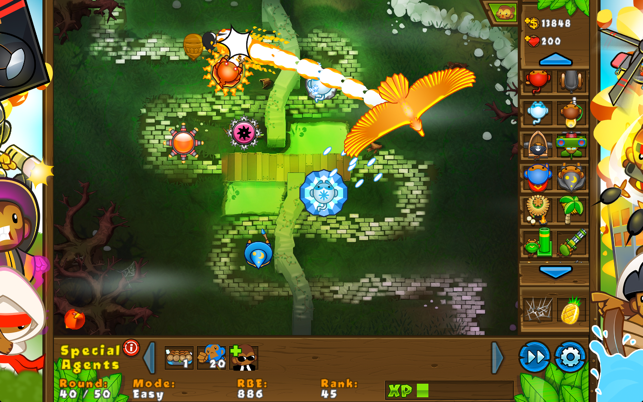 Bloons TD 5, game for IOS