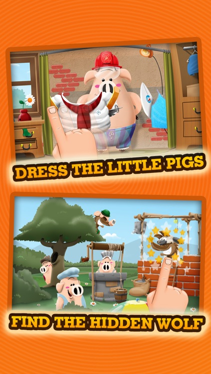 Three Little Pigs - Story & Games