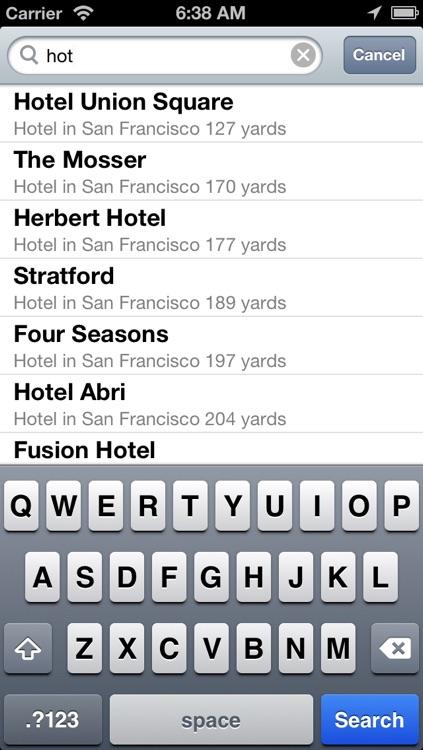 San Francisco Offline Map + Public Transportation map screenshot-4