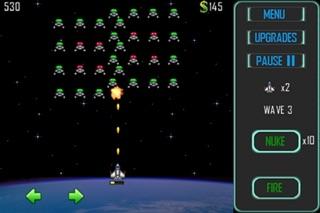 Space Cadet Defender screenshot one