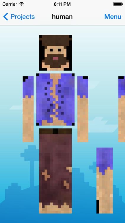 Skin Creator Pro Editor for Survivalcraft Textures Game Skins