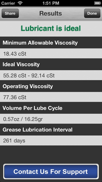 LubeCoach EM - Electric Motor Grease Lubrication Calculator screenshot-4
