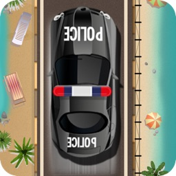 A Tropical Arrest - High Speed Motor Cars Race at the Beach