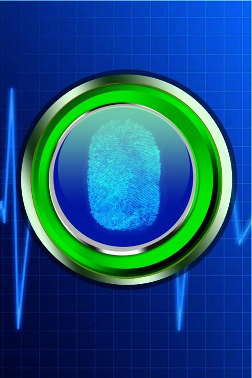 A FingerPrint Scanner for iPhone - My Security &  Phone Finger Print Scan Pro App 2012