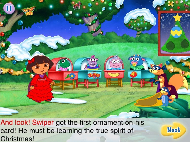 Dora's Christmas Carol Adventure HD screenshot-4