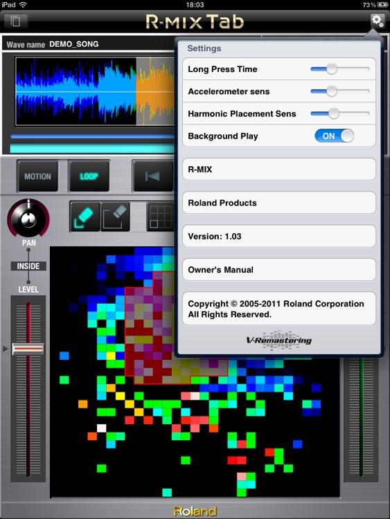R-MIX Tab screenshot-4