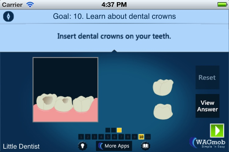 Dentistry for Kids by WAGmob screenshot-4