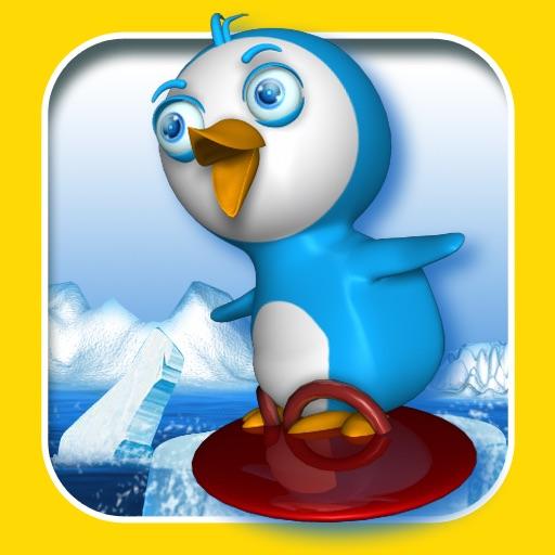 Skiing Penguin icon