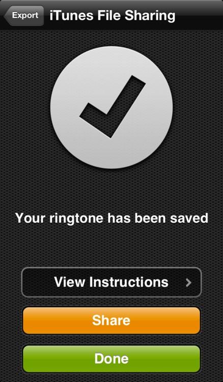Ringer - Ringtone Maker screenshot-3