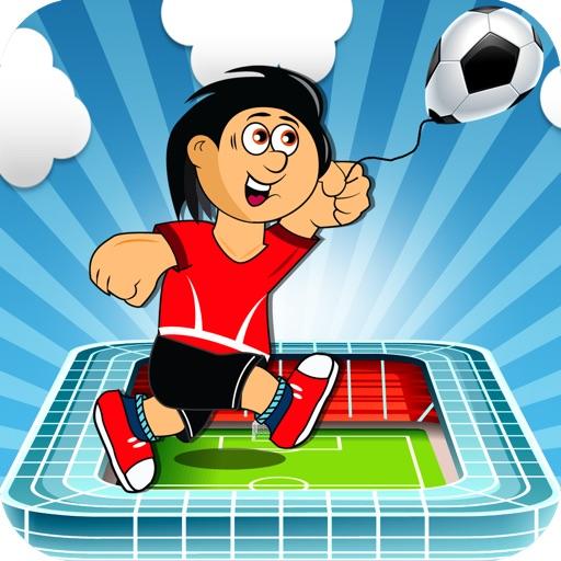 Soccer Ball Ballon Ninja Jump - Stadium Coin Runner Pro