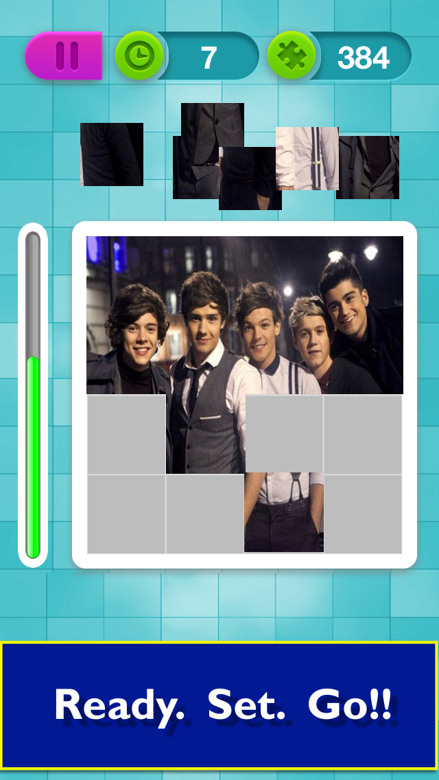 Puzzle Dash: One Direction fan song game to quiz your 1d