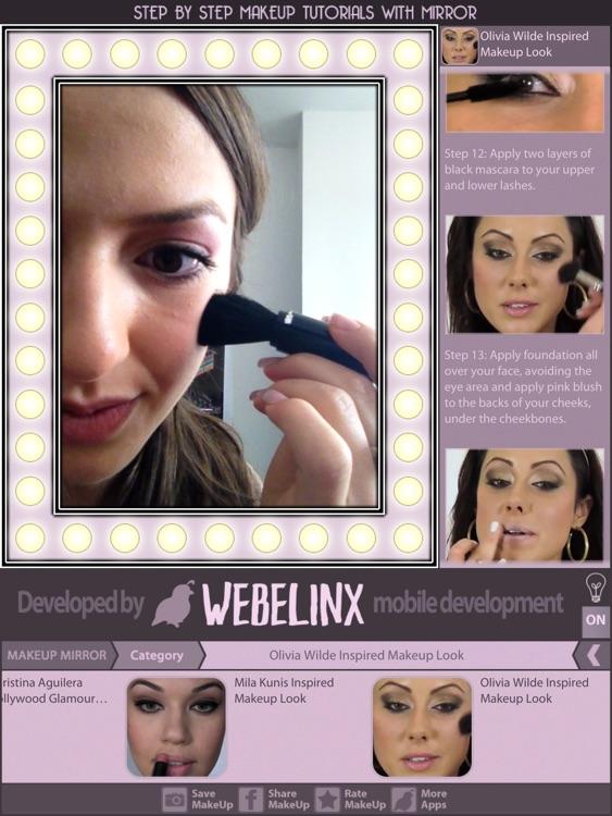 Makeup Tutorials & Mirror screenshot-3