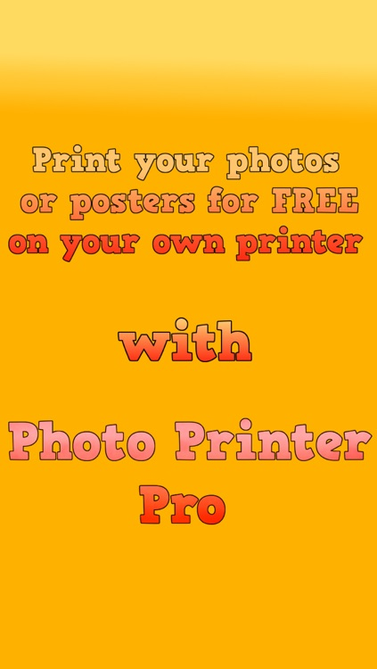 Photo Printer Pro - Print photos or panorama pictures directly from your iPhone or iPad app. screenshot-3