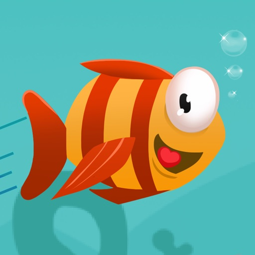 Jump.y Mega Fish: Frozen Baby Sea Fish Run Kids Adventure Free by Top Crazy Games iOS App