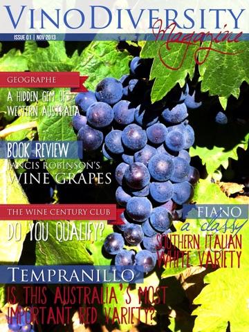 Скриншот из Vinomag - Vinodiversity Magazine for adventurous wine lovers in Australia and beyond