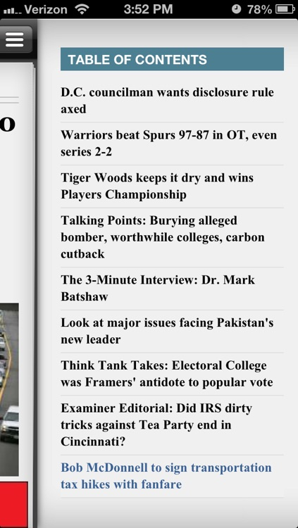 Washington Examiner Magazine screenshot-3