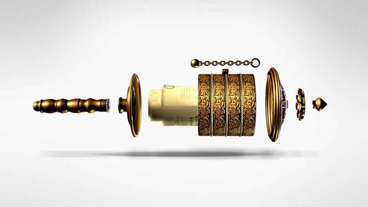 Prayer Wheel 3D