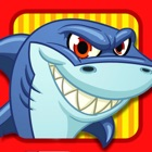 Shark Attacks! FREE : Hungry Fish Revenge Laser Shooting Racing Game - By Dead Cool Apps icon